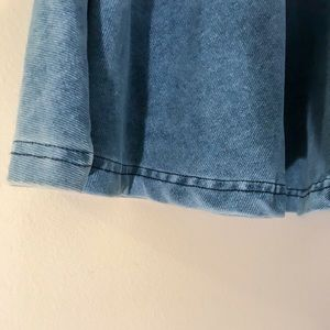 Topshop blue skirt size 6 cute mini skirt